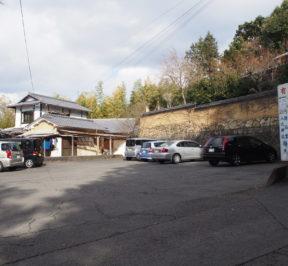 詩仙堂(丈山寺)の駐車場
