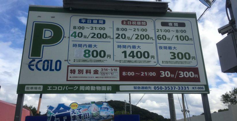 エコロパーク/岡崎動物園前